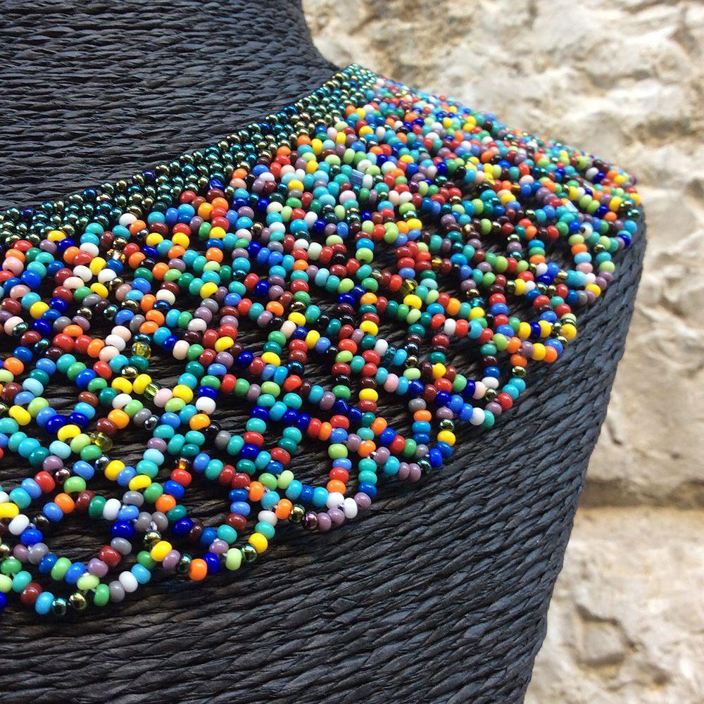 Collares artesanales de Ecuador
